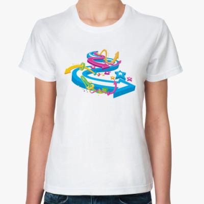 Классическая футболка  футболка Направление