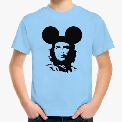 Детская футболка  Mickey Mouse Che Guevara