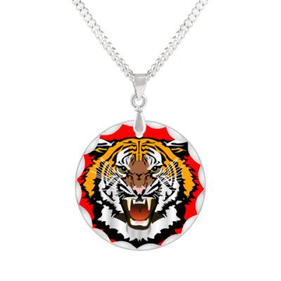 Кулон Tiger Pop Art