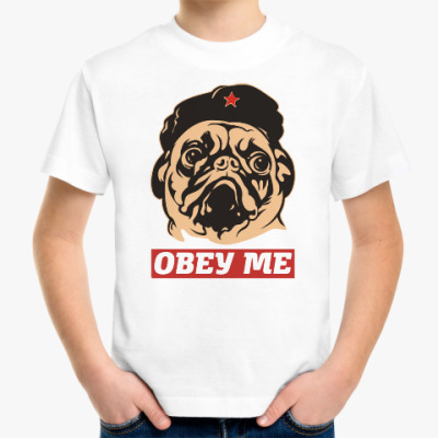 Детская футболка Obey the doggy