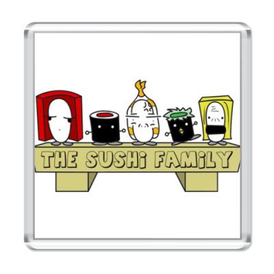 Магнит Sushi Family