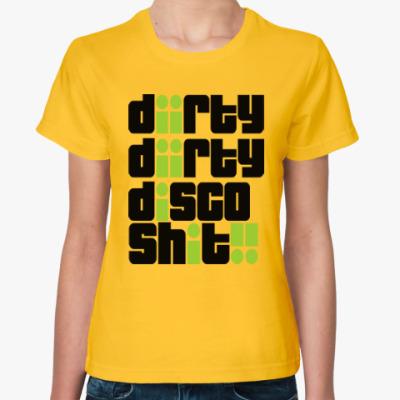 Женская футболка Грязное диско