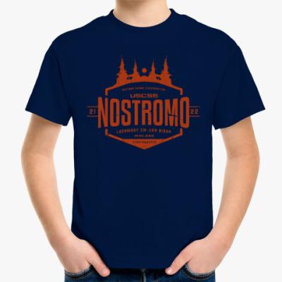 Детская футболка Чужой. Nostromo