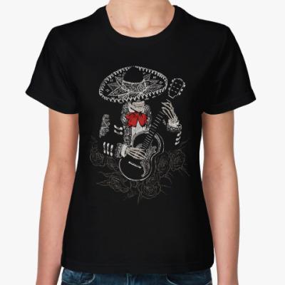 Женская футболка Кукарача