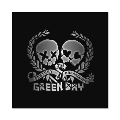 Наклейка (стикер) Green Day