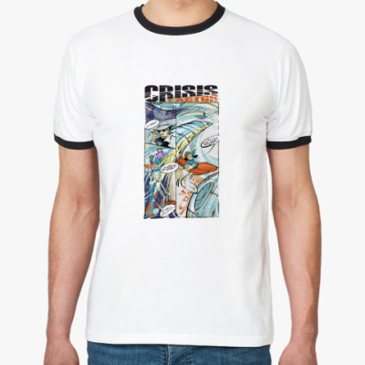 Футболка Ringer-T CrisisFACTOR