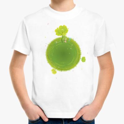Детская футболка дерево