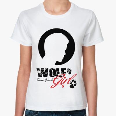 Классическая футболка Wolfgirl
