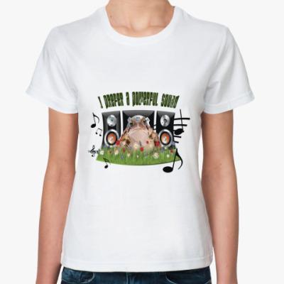 Классическая футболка 'Жаба'