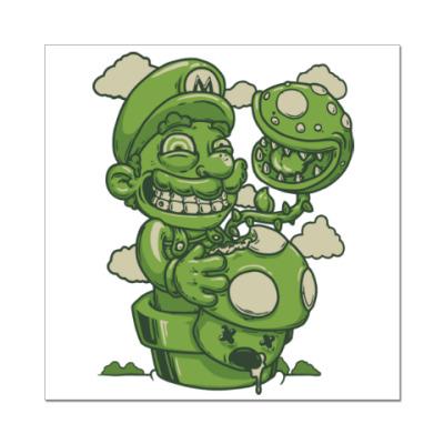 Наклейка (стикер) Марио