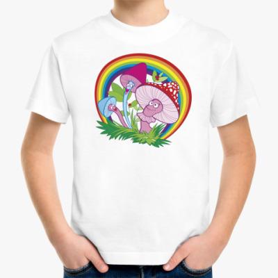 Детская футболка Веселые грибочки