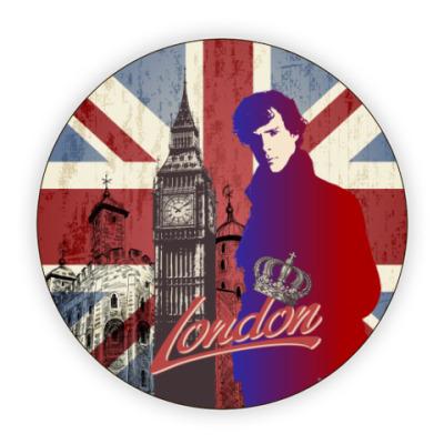 Костер (подставка под кружку) Sherlock