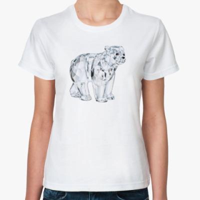 Классическая футболка Алмазный мишка
