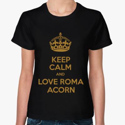 Женская футболка Love Roma Acorn