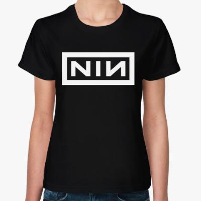 Женская футболка Nine Inch Nails