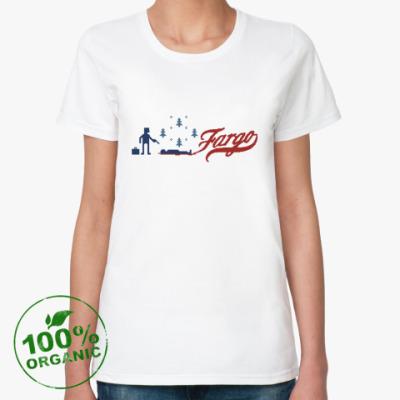 Женская футболка из органик-хлопка Фарго (Fargo)