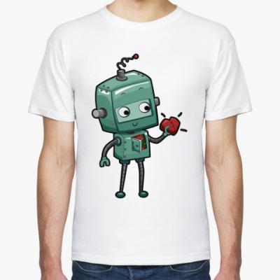 Футболка Робот с сердцем
