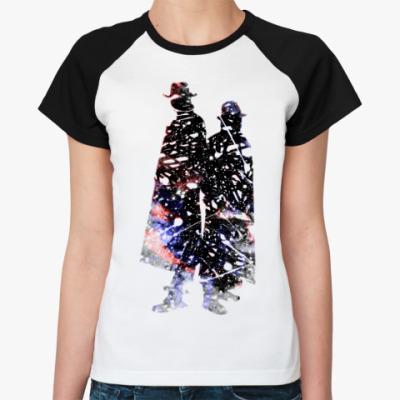 Женская футболка реглан Karma Police  Ж ()