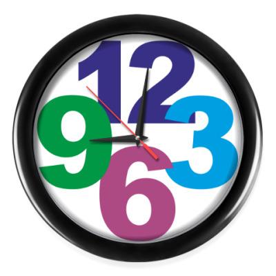 Настенные часы цифры
