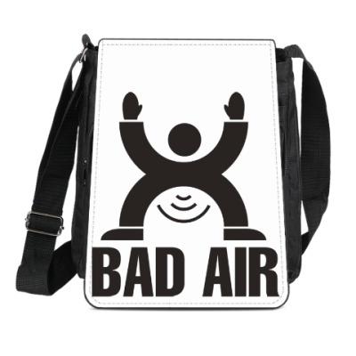 Сумка-планшет Плохой воздух