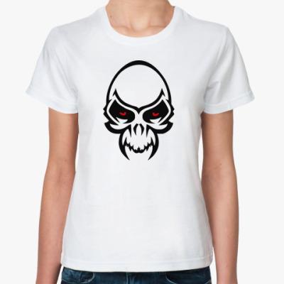 Классическая футболка  Tribal череп