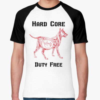 Футболка реглан Hard Core Duty Free