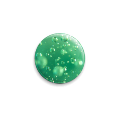 Значок 25мм  Водные пузырики