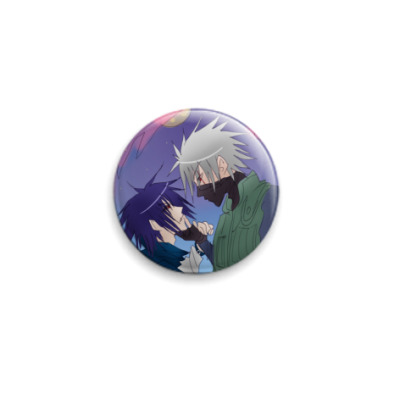 Значок 25мм 'Sasuke & Kakashi'