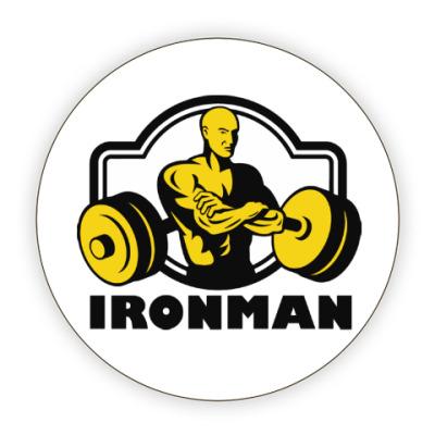Костер (подставка под кружку) Ironman