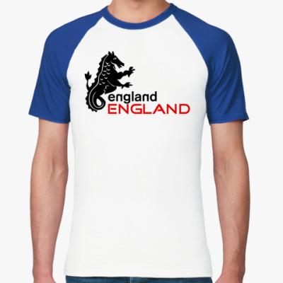 Футболка реглан  Англия