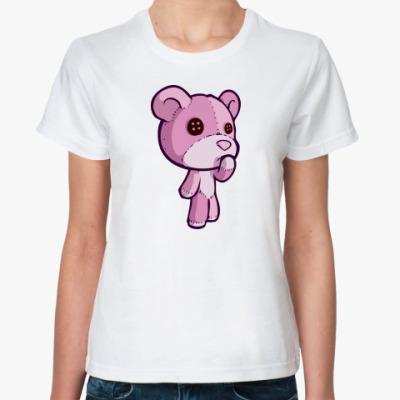 Классическая футболка 'Ведмедь'