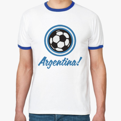 Футболка Ringer-T Аргентина