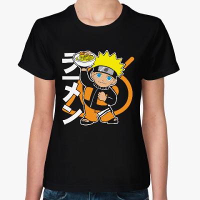 Женская футболка Наруто