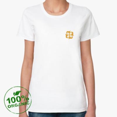 Женская футболка из органик-хлопка Женская органик