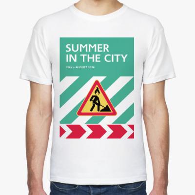 Футболка Мужская футболка Summer in the City — знак