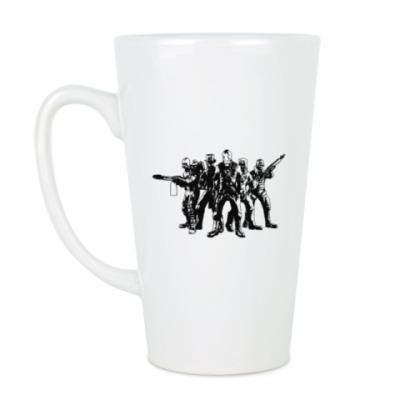 Чашка Латте Большая кружка Steampunk