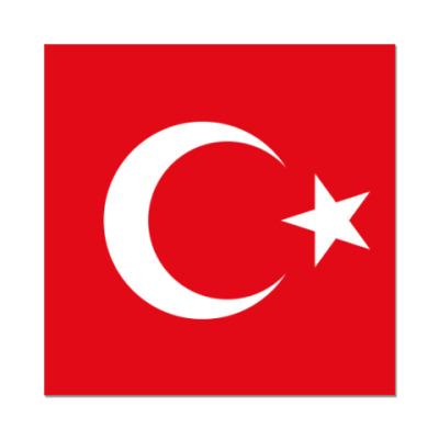 Наклейка (стикер)  Турция, Turkey