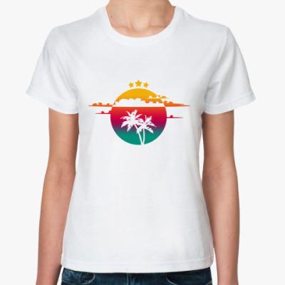 Классическая футболка Hot Summer