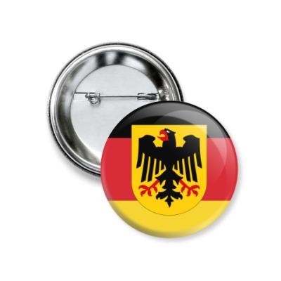 Значок 37мм Deutschland
