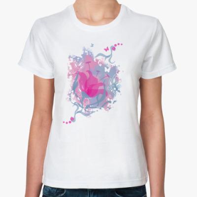 Классическая футболка  Нежность