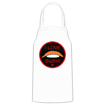 Фартук Я люблю суши