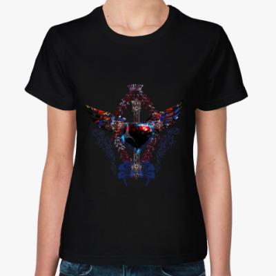 Женская футболка Неоновая композиция