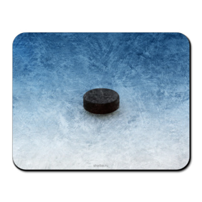 Коврик для мыши 'Шайба на льду'