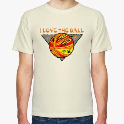 Футболка I Love The Ball