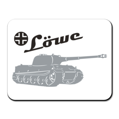 Коврик для мыши Pz-VII Lowe