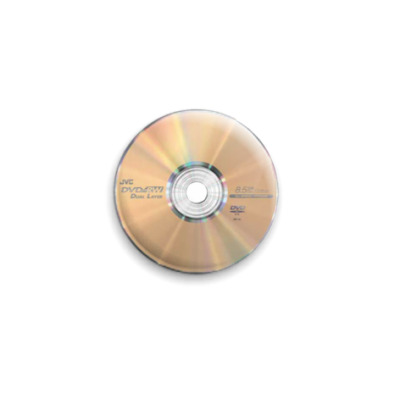 Значок 25мм  DVD