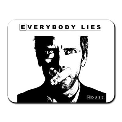 Коврик для мыши Коврик Everybody Lies