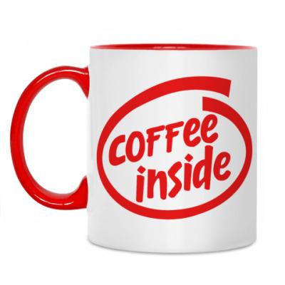 Кружка Coffee inside!