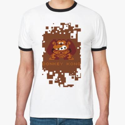 Футболка Ringer-T Donkey Kong