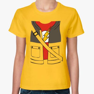 Женская футболка Костюм Шелдона Купера